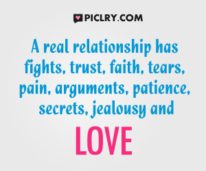 A relationship has fights quote picture