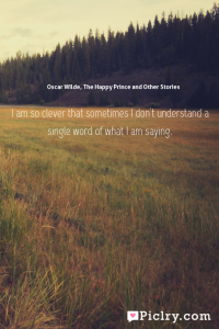 Meaning of  - Oscar Wilde, The Happy Prince and Other Stories quote photo - full hd4k quote wallpaper - Wall art and poster
