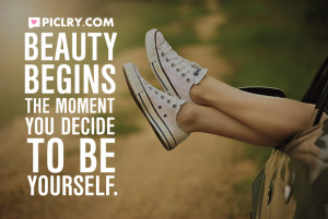 beauty begins the moment coco chanel