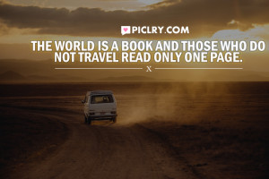 world is a book travel quote