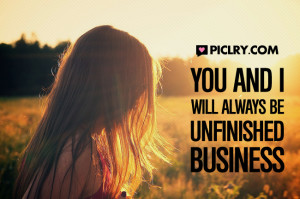 you i unfinished business